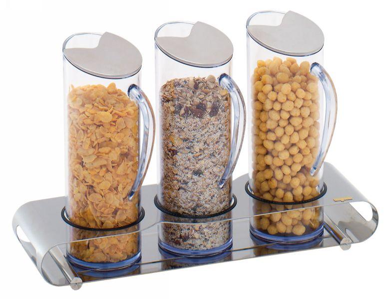 distributeur de cereales 3 flutes euresco euresco. Black Bedroom Furniture Sets. Home Design Ideas