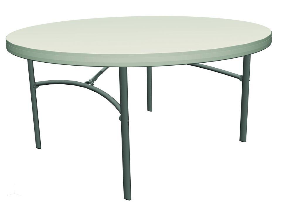 Poly table pliante d152 euresco euresco for Table pliante 10 personnes