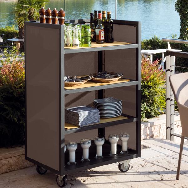carrello evolution desserte roulante euresco euresco. Black Bedroom Furniture Sets. Home Design Ideas